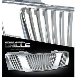 Truck 05 06 07 Vertical Style Grille Chrome Front Grill Automotive