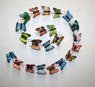 wholesale lot 20 pcs colorful Butterfly magnet fridge