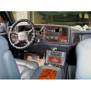 CHEVY SILVERADO LS LT 2003 2004 2005 2006 INTERIOR WOOD DASH TRIM KIT