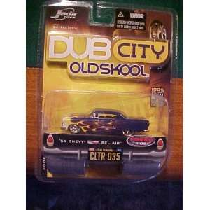 55chevy Bel Air Dub City Old Skool Jada Toy Toys & Games