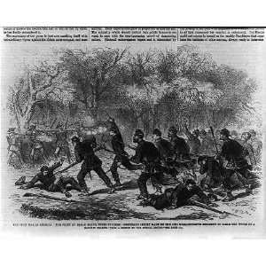 Civil War in America,fight at Balls Bluff,upper Potomac