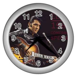 Elvis Presley Round Wall Clock GIFT DECOR COLLECTOR S