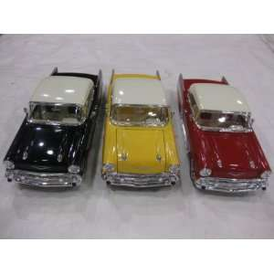 Diecast 1957 Chevy Bel Air Dub Series Edition in a 124