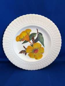 Royal Cauldon Flowers of Carribean Allamanda Plate