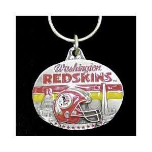 Washington Redskins NFL Pewter Key Ring