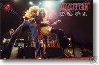 LED ZEPPELIN POSTER Robert Plant   Jimmy Page RARE NEW