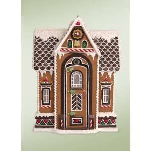 Byers Choice Carolers   Santas Chalet Gingerbread House