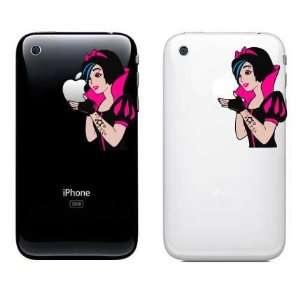 Snow White Full Color iPhone Punk Rocker Decal Same Day