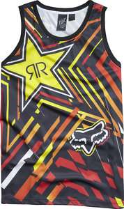 New Mens Fox Racing Rockstar Spike Vortex Bball Jersey