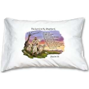 Good Shepherd Psalm 23 Prayer Pillowcase