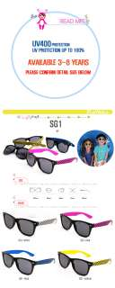CHILDREN KID BOYS GIRLS BABY INFANT TODDLER SUN GLASSES horn