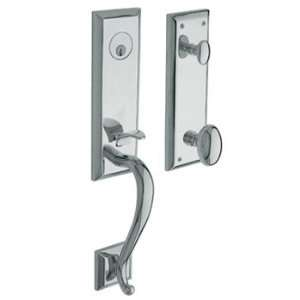 Baldwin 85355.260.RENT/LENT Polished Chrome Single Cylinder Stonegate