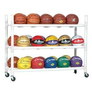 Heavy Duty Indoor Outdoor 30 basketball Ball Cart