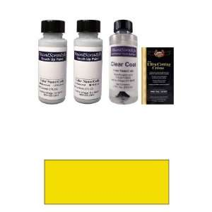 Tricoat 2 Oz. Indy Yellow Pearl Tricoat Paint Bottle Kit