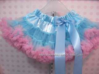 Pettiskirt bow Ballet child kids baby toddler girl Skirt Tutu 1 9 yrs
