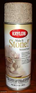 MAKE IT STONE TEXTURED SPRAY PAINT TRAVERTIN TAN 724504182030