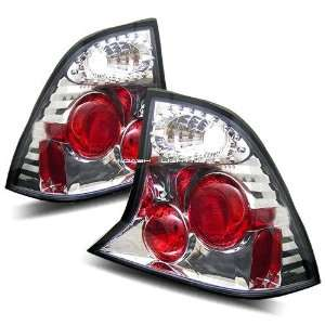 00 04 Ford Focus 4Dr Tail Lights   Chrome Automotive