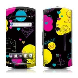 Black Candy Design Protective Skin Decal Sticker for Sony