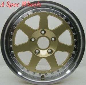 15 ROTA J MAG RIM 4X100 WHEEL/TIRES MR2 YARIS ECHO FIT