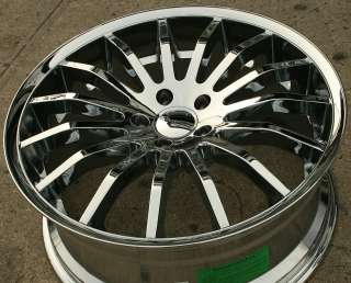 GIOVANNA MARTUNI 20 CHROME RIMS WHEELS HONDA ACCORD 03 up