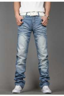 New Fashion Mens Stylish Skinny Jeans Trousers Pants 7 Sz V376 free