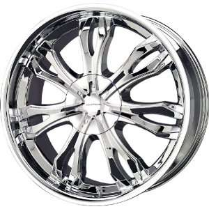 Liquid Metal Ice Series Chrome Wheel (20x9/6x139.7mm)