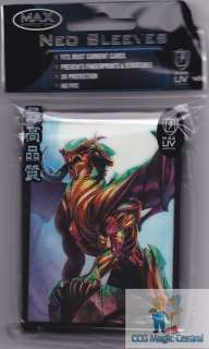 SENTINEL DRAGON MAX PROTECTION DECK PROTECTORS CARD SLEEVES MTG WoW
