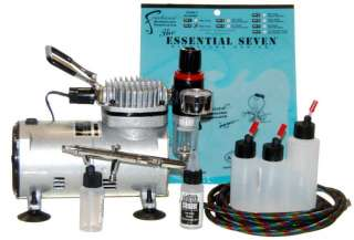 IWATA Eclipse HP BCS AIRBRUSH KIT w/COMPRESSOR/AIR HOSE