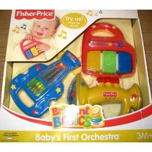 Fisher Price Brilliant Basics Babys First Orchestra Toys
