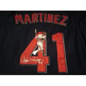 Victor Martinez Signed Autographed Jersey Cleveland