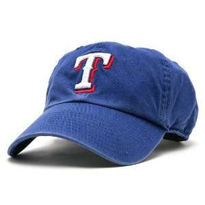 Texas Rangers Womens Cleanup Adjustable Cap   Royal