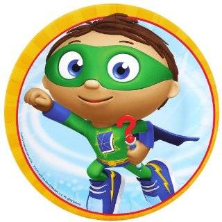 Super Why   Super Birthday Edible Icing Cake Topper Toys