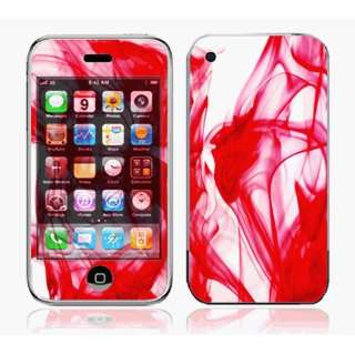 iPhone 3G Skin Decal Sticker  Rose Red~