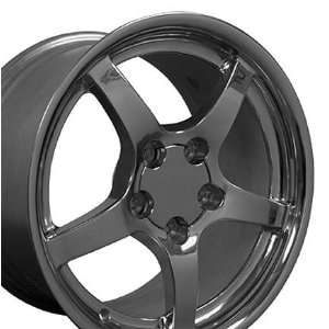 C5 Deep Dish Style Wheels Fits Camaro Corvette   Polished