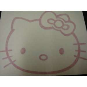 Hello Kitty Racing Car Decal Sticker (New) Pink