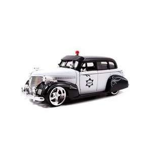 1939 Chevrolet Master Deluxe Police 1/24 Toys & Games