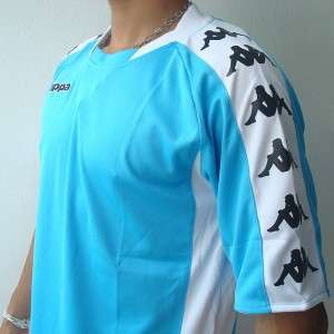 KAPPA Athletic Mens Football Soccer Jersey Shirt M L