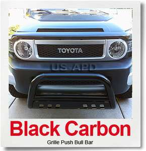 07 11 2011 Toyota Fj Cruiser Black Bull Bar