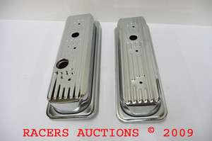 S10 CHEVY TRUCK CHROME VALVE COVERS 85 93 V6 4.3L
