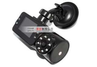 IR Car dash Rotable Camera DVR video recorder Cam Angle LENS
