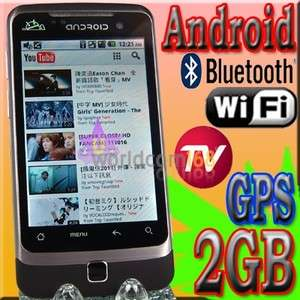 Android TV mobile phone cell G6000 Dual Sim Unlocked GSM WiFi  GPS