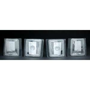 94 99 CHEVY CHEVROLET SUBURBAN EURO CRYSTAL CLEAR CORNERS SUV, one set