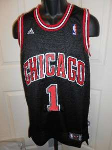 NEW Adidas Derrick Rose #1 Chicago BULLS 2XLarge 2XL +2 SWINGMAN Sewn