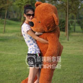 NEW GIANT 63 TEDDY BEAR HUGE SOFT 100% COTTON TOY