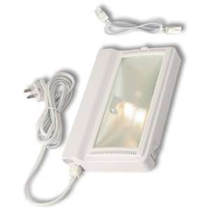 8 Plug In 20W Xenon Cabinet Light, White