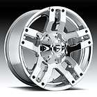 18 FUEL Offroad 18x9.0 PUMP XD 18 inch Chevy FORD Dodge CHROME WHEELS