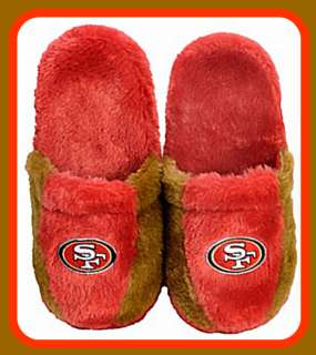 San Francisco 49ers Slippers NFL Authentic All Sizes