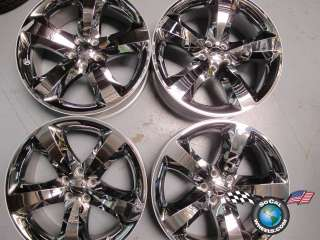 2012 Dodge Challenger Factory 20 Wheels OEM Rims Chrome Charger Magnum