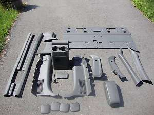 04 CHEVY COLORADO EXTENDED CAB PLASTIC INTERIOR PARTS