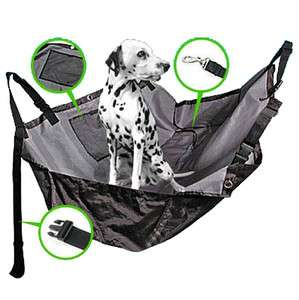 Pet Dog Car Seat Cover Safety Hammock WATERPROOF Black